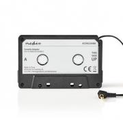 Kazetový Adaptér | 3,5mm Zástrčka | Černý