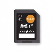 Paměťová karta | SDHC | 16 GB | Zápis až 80 Mb/s | Třída 10
