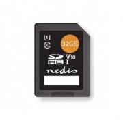 Paměťová karta | SDHC | 32 GB | Zápis až 80 Mb/s | Třída 10