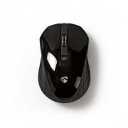 Bezdrátová myš | 1 000 dpi | 3 tlačítka | Černá barva
