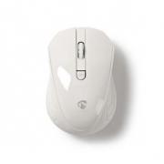 Bezdrátová myš | 1 000 dpi | 3 tlačítka | Bílá barva