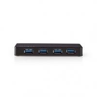 USB hub   4 Porty   USB 3.2 Gen1   Napájení z USB / Síťové napájení   4x USB