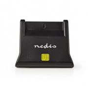 Čtečka Čipových Karet | USB 2.0 | Model pro Stolní Počítače | Černá
