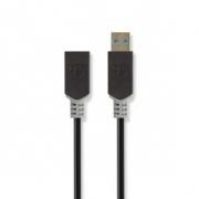 USB 3.0 Kabel | Typ-C Zástrčka - A Zásuvka | 0,15 m | Antracit