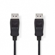 Kabel DisplayPort | DisplayPort Zástrčka - DisplayPort Zástrčka | 2 m | Černá barva