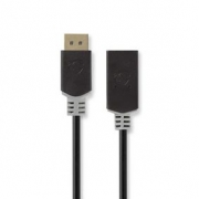 DisplayPort – HDMI Kabel | DisplayPort Zástrčka - HDMI™ výstup | 0,2 m | Antracit