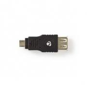 USB 2.0 Adaptér | Micro B Zástrčka - A Zásuvka