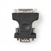 VGA – DVI Adaptér   VGA zástrčka - DVI-I 24+5-pin Zásuvka   Černá barva