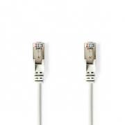 Síťový Kabel Cat 5e SF / UTP | RJ45 Zástrčka - RJ45 Zástrčka | 0,25 m | Bílá barva