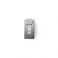 RJ45 konektor | Zástrčka | Lanko STP CAT5 | Přímý | Pozlacené | 10 ks | PVC | Transparentní | Plastový Sáček