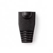 Odlehčovací manžeta | Pro Síťové Konektory RJ45 - 10 kusů | Černá barva