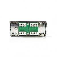 Network Connection Box | RJ45 | PVC | Kov | Kov | Plastový Sáček