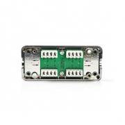 Síťová zásuvka   Pro Síťové Kabely U / FTP - Kov