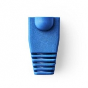 Odlehčovací manžeta | Pro Síťové Konektory RJ45 - 10 kusů | Modrá