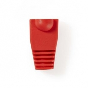 Odlehčovací manžeta | Pro Síťové Konektory RJ45 - 10 kusů | Červená barva