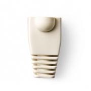 Odlehčovací manžeta | Pro Síťové Konektory RJ45 - 10 kusů | Bílá barva