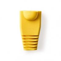 Odlehčovací Manžeta | RJ45 | 10 ks | PVC | Žlutá | Plastový Sáček
