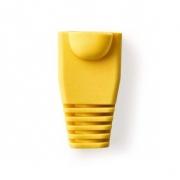 Odlehčovací manžeta | Pro Síťové Konektory RJ45 - 10 kusů | Žlutá