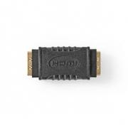 Adaptér HDMI | HDMI Zásuvka - HDMI Zásuvka | Černá barva
