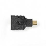 Adaptér HDMI | HDMI Mini Konektor - HDMI Zásuvka | Černá barva