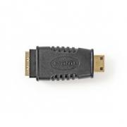 Adaptér HDMI | HDMI Micro Konektor - HDMI Zásuvka | Černá barva