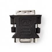 DVI – VGA Adaptér | DVI-I 24+5-Pin Zástrčka - VGA Zásuvka | Černá barva