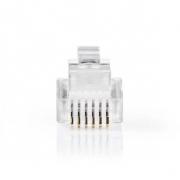 Telekomunikační konektor | RJ12 zástrčka | 10 kusů