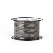 DMX Kabel 110 Ohmů | 4x 0,12 mm² | 100 m | Cívka | Šedá barva