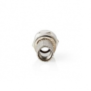 Konektor F | Samec | Pro 7,0mm Koaxiální Kabely | 25 ks | Kov