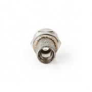 Konektor F | Samec | Pro 5,0mm Koaxiální Kabely | 25 ks | Kov
