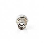 Konektor F | Samec | Pro 7,4mm Koaxiální Kabely | 25 ks | Kov