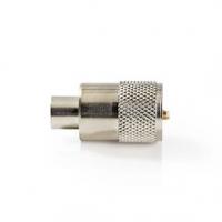 Konektor PL259 | Samec | Pro RG58 Koaxiální Kabely | 25 ks | Kov