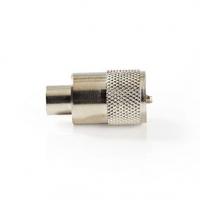 Konektor PL259 | Samec | Pro RG6 Koaxiální Kabely | 25 ks | Kov