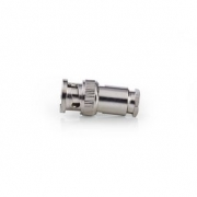 BNC Konektor | Samec | Pro 5,0mm Koaxiální Kabely | 25 ks | Kov