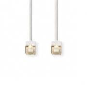 CAT6 S/FTP Síťový Kabel | RJ45 (8P8C) Zástrčka – RJ45 (8P8C) Zástrčka | 10 m | Bílá barva