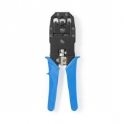 Krimpovací kleště pro konektory RJ45 – RJ11 – RJ10, modré