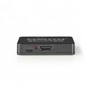 2portový | HDMI Rozbočovač | Černý