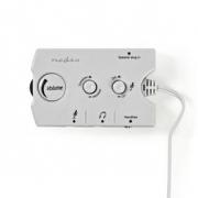 Analogový Audio Spínač | 2x 3,5mm Zástrčka | 3x 3,5mm Zásuvka + 2,5mm Zásuvka | Slonovinový