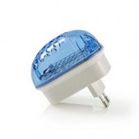 Elektrický Lapač Hmyzu   1 W   Typ žárovky: LED Svítidlo   Efektivní rozsah: 20 m²   Bílá / Modrá