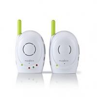 Audio Chůvička | S funkcí zpětného volání | Rozsah: 300 m | Síťové napájení | Bílá / Zelená