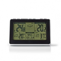 Meteorologická stanice | Vnitřní a Venkovní | Včetně bezdrátového senzoru počasí | Předpověď počasí | Zobrazením času | LCD Disp