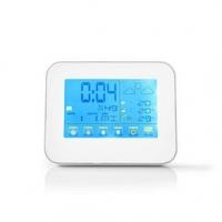 Meteorologická stanice | Vnitřní a Venkovní | Včetně bezdrátového senzoru počasí | Předpověď počasí | Zobrazením času | Barevný