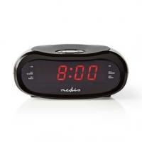 Digitální budík s rádiem   LED Displej   AM / FM   Funkce odloženého buzení   Časovač vypnutí   Počet alarmů: 2   Černá