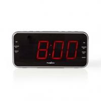 Digitální budík s rádiem   LED Displej   1x 3,5 mm zvukový vstup   AM / FM   Funkce odloženého buzení   Časovač vypnutí   Počet