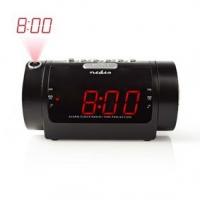 Digitální budík s rádiem   LED Displej   Promítání času   AM / FM   Funkce odloženého buzení   Časovač vypnutí   Počet alarmů: 2