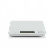 Digitální kuchyňská váha | LCD | Sklo | Bílá barva