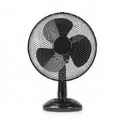 Stolní Ventilátor   Průměr 30 cm   3 Rychlosti   Funkce Oscilace   Černá barva