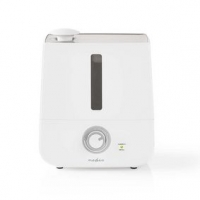 Zvlhčovač Vzduchu | 30 W | S chladnou mlhou | 2.8 l | Vhodné pro prostor až do: 25 m² | Bílá / Šedá