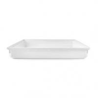 Odkapávací Miska pod Pračku | Hloubka: 700 mm | Šířka: 700 mm | Výška: 100 mm | Plast | Bílá