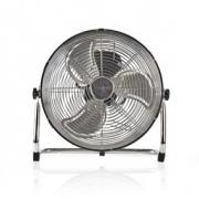 Podlahový Ventilátor | Průměr 30 cm | 3 Rychlosti | Chrom